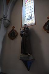 Statue de Saint Antoine de Padoue @ Église Saint-François-de-Sales @ Seyssel (Ain)
