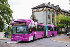 Citéline / Volvo 7500A n°4414 Ex-Göteborgs Spårvägar AB n°977 puis Ex-GS Buss AB n°977 puis Ex-Terminal G AB n°101