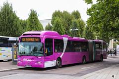 Citéline / Volvo 7500A n°4418 Ex-Göteborgs Spårvägar AB n°973 puis Ex-GS Buss AB n°973 puis Ex-Terminal G AB