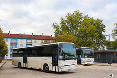 Citéline / SNCF / Irisbus Recreo 12.8 n°20028 et Iveco Crossway Pop 13 n°23956 - Transdev Grand Est