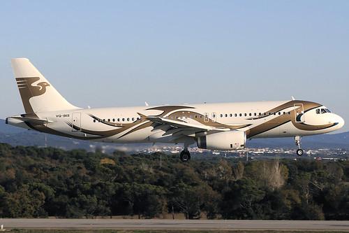 Meridian Avia A320-232CJ VQ-BIS GRO 29/11/2020