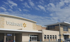 Walmart Supercenter at 10 minutes drive to the north of Dallas dentist Fitz Dental