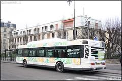 Heuliez Bus GX 317 GPL – Véolia Transport – Établissement de Montesson les Rabaux / STIF (Syndicat des Transports d'Île-de-France) / Résalys n°766