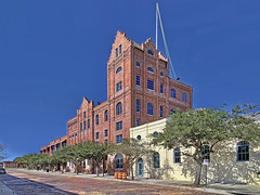 Florida Brewing Company building, 1234 E 5th Avenue, Tampa, Florida, USA / Built: 1896 / Structural Engineer: August Maritzen / Floors: 6 / Height: 71 ft / Renovations: 2000 / Renovation Architect: Curts Gaines Hall Architects / Style: Romanesque Revival