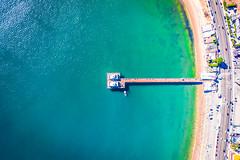Malibu Pier Sunrise DJI Mavic 2 Pro Drone Aerial Photography Malibu Beach Pier Fine Art Landscape Nature Photography! California Seascape Ocean Art! Elliot McGucken Master Drone Aerial Nature Photographer! Hasselblad Mavic 2 Pro L1D-20c 20 mp Camera!