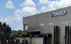 Topgolf just one mile to the north of Dallas dentist Hermosa Dental & Orthodontics