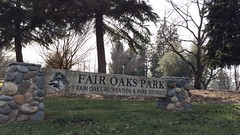Fair Oaks Park at 5 minutes drive to the north of Dallas Dentist Hermosa Dental & Orthodontics