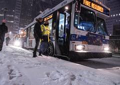 MTA Responds to Winter Storm