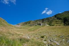 Sentier du Col de Tricot aux Chalets de Miage
