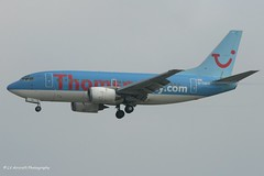 G-THOB_B735_Thomson Airways_- - Photo of Étiolles
