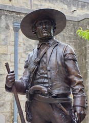 Alamo defenders monument