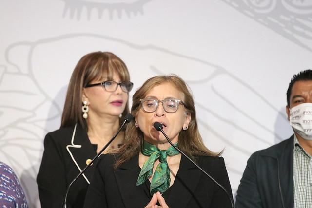 11/11/2020 Conferencia De Prensa Diputada Claudia Yáñez Centeno