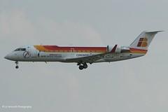 EC-JEN_CRJ2_Air Nostrum_- - Photo of Ris-Orangis