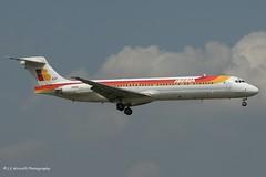 EC-EXF_MD87_Iberia_- - Photo of Ris-Orangis