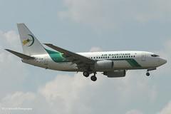 5T-CLM_B737_Air Mauritanie_- - Photo of Grigny