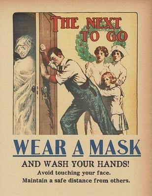 Wear a mask 1918