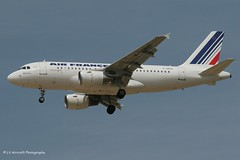 F-GRXG_A319_Air France_- - Photo of Messy