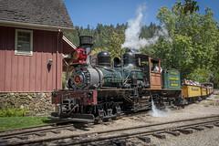 The Roaring Camp Train