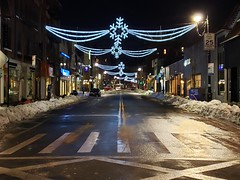 Austin Street At Midnight