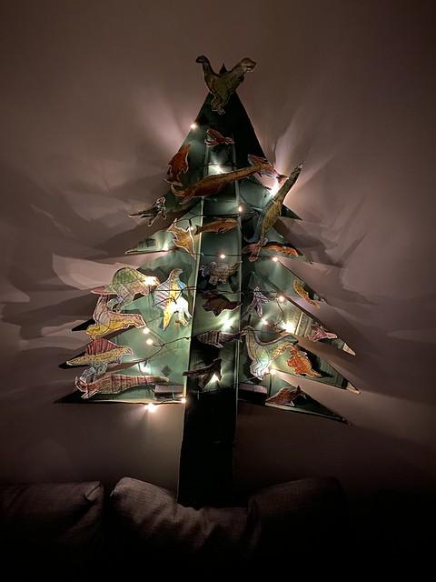 Dino Christmas tree, 2020
