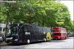 Mercedes-Benz Tourismo – Hauser & AEC (Associated Equipment Company) Routemaster – Vegan Routes