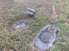 More Gravestones at Cemetery in Forney
