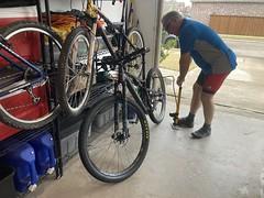 Dad Getting Ready