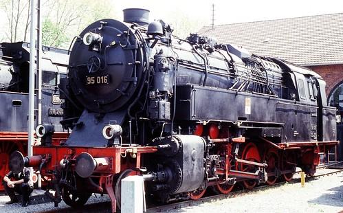 DR 95 016 (Nachbau P.St.B. T 20; Borsig 1923) DDM Neuenmarkt(Ofr.)