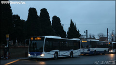 Mercedes-Benz Citaro K – Négoti Tourisme n°73427 / Tisséo n°7413 & Volvo 8700 LE – CAP Pays Cathare (Transdev) / Tisséo - Photo of Seysses