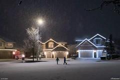 Snow on 2020 Winter Solstice