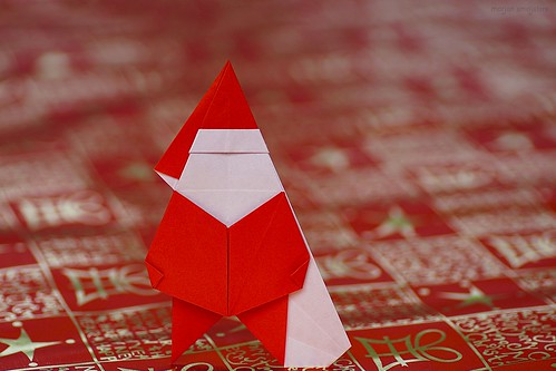 Origami Santa Claus (Sakurai Ryosuke/Saku B)