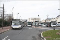 Renault Agora S – Keolis Versailles / STIF (Syndicat des Transports d'Île-de-France) – Transilien SNCF n°209 - Photo of Jouy-le-Moutier