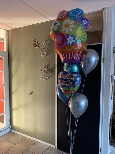 Ballonboeket Welkom Thuis