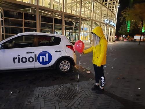 Heliumballonnen Bedrukt Halloween IT Riool.nl Leiden