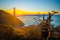 Golden Gate Bridge Battery Spencer Solstice Sunrise California Fine Art Fuji GFX100 Landscape Photography! Ocean Art Seascape!  Elliot McGucken Master Medium Format Landscape Nature Photography Fuji GFX 100 & FUJINON  Fujifilm GF 23mm f/4 R Lm Wr Lens Wid