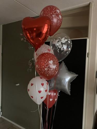 Ballonboeket Liefde Valentijn