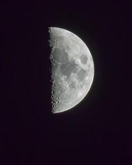 First Quarter - Half Moon 12-21-2020