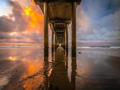 La Jolla Scripps Pier Southern California Fine Art Fuji GFX100 Landscape Photography! Ocean Art Seascape!  Elliot McGucken Master Medium Format Landscape Nature Photography Fuji GFX 100 & FUJINON FUJIFILM GF Lens