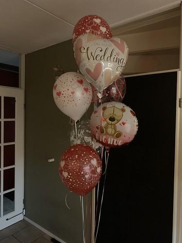 Ballonboeket Liefde Valentijnsdag