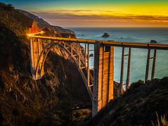 Big Sur Bixby Bridge Solstice Sunset California Fine Art Fuji GFX100 Landscape Photography! Ocean Art Seascape!  Elliot McGucken Master Medium Format Landscape Nature Photography Fuji GFX 100 & FUJINON FUJIFILM GF Lens
