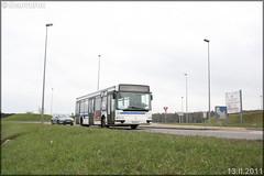 Renault Agora S – Keolis Versailles / STIF (Syndicat des Transports d'Île-de-France) – Transilien SNCF n°206 - Photo of Jouy-le-Moutier
