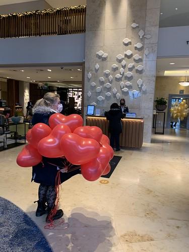 Heliumballonnen Hartballonnen Marriott Hotel Rotterdam