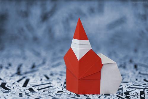 Origami Santa Claus (Hidehisa Inayoshi)