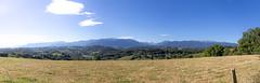 Panorama sur la chaîne des Pyrénées