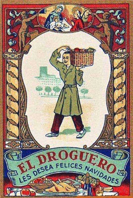 Photo:El Droguero les desea felices Navidades [The Druggist wishes you a Merry Christmas] By Halloween HJB
