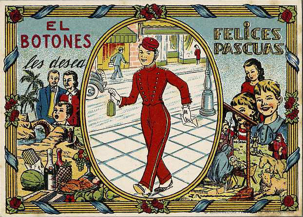 Photo:El Botones les desea Felices Pascuas [The Bellhop wishes you a Merry Christmas] By Halloween HJB
