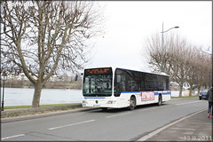 Mercedes-Benz Citaro – STIF (Syndicat des Transports d'Île-de-France) – Transilien SNCF n°309 - Photo of Menucourt