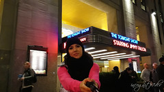 Me at The Tonight Show Entrance Rockefeller Center 6th Ave Avenue of the Americas Midtown Manhattan New York City NY P00752 20191009_193546