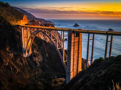 Bixby Bridge Big Sur California Pacific Coast Highway Sunset Pfeiffer Beach Fine Art Fuji GFX100 Landscape Photography! Big Sur PCH Scenic Solstice!  Elliot McGucken Master Medium Format Landscape Nature Photography Fuji GFX 100 & FUJINON Fujifilm Lens