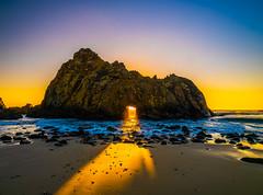 Big Sur California Keyhole Rock Sunset Pfeiffer Beach Fine Art Fuji GFX100 Landscape Photography! Big Sur Scenic Solstice!  Elliot McGucken Master Medium Format Landscape Nature Photography Fuji GFX 100 & FUJINON Fujifilm LM WR Lens